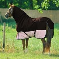 Krk na deku HKM Professional hnědý L