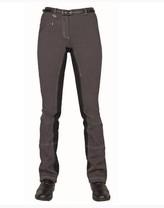 Rajtky HKM pantalony šedé kožený sed