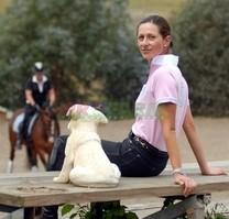 Jezdecké triko Horka Competetion Derby růžové