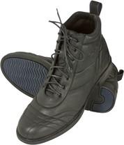 Boty perka šněrovací Comfort 10205: černá prošív.