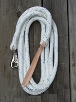 Lonž-lano 3,8 m pro horsemanship těžká