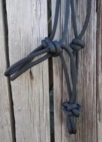 Ohlávka provazová /černá/, Velikost 3