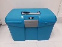 Box na čištění KenTaur tm.modrá/šedá