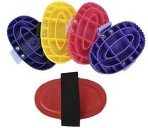 Hřbílko plastové s nylon.poutkem, modrá, Barva červená