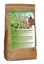 Pochoutka pro koně Delizia vanilka/višeň 1 kg