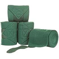 Fleecové bandáže Waldhausen, 4 ks, zelené