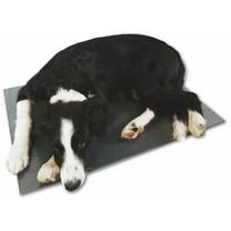 Výhřevná deska pro psy, podlážka 40 x 60 cm, 12 V / 20 W, PVC, napájení do autonabíječky