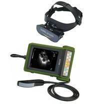 Ultrazvukový scanner RKU10 s rektální sondou pro diagnostiku březosti u skotu a koní s brýlemi
