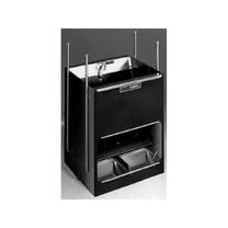 Samokrmítko Domino MIXER FRH se zvlhčováním, pro prasata, 92 l / 64 kg pro 60 prasat / Počet koryt 2x2