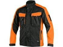 Pánská blůza SIRIUS BRIGHTON, černo-oranžová