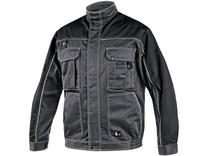 Blůza ORION OTAKAR, zimní, prodloužená, pánská, šedo-černá