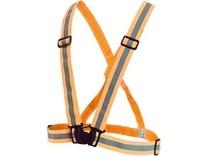 Reflexní elastický KŘÍŽ, oranžový