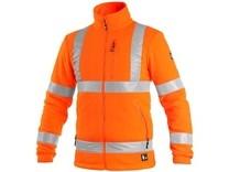 Bunda PRESTON, výstražná, oranžová