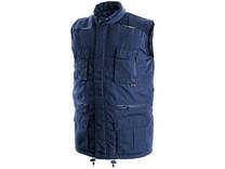 Pánská zimní vesta OHIO, modrá