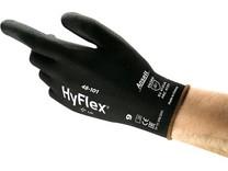 Povrstvené rukavice ANSELL SENSILITE, černé
