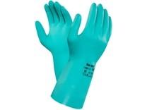 Kyselinovzdorné rukavice ANSELL SOL-VEX 37-676, vel. 08
