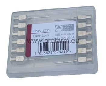 Jehla injekční HSW Eko LL 1,0x10mm (12ks)