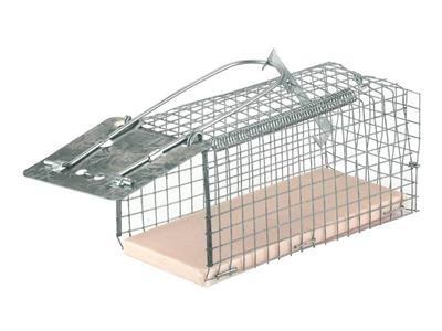 Past na myši drátěná ALIVE mouseCage, 12 x 5,5 x 5,5 cm