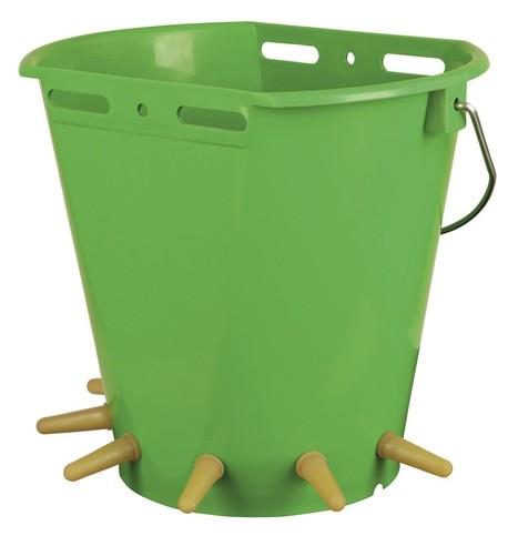 Kyblík pro jehňata s šesti dudlíky, vč.ventilů