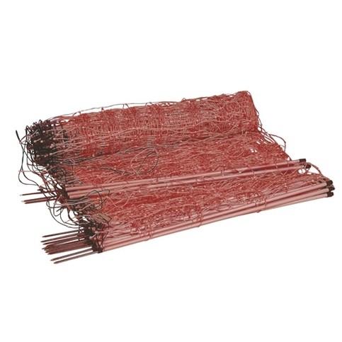Síť pro elektrické ohradníky na ovce Ovinet 108 cm, 50 m, 1 hrot, oranžová, Oranžová, 1 hrot