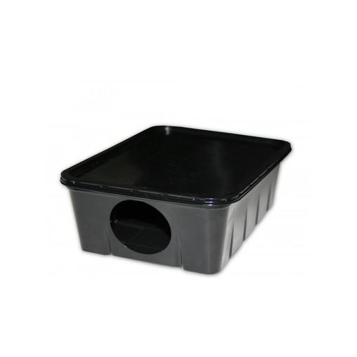 Stanice deratizační plastový na myši a potkany, 19 x 14,5 cm