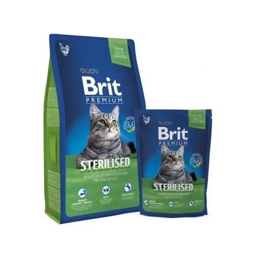 Brit Premium Cat Sterilised, 8 kg
