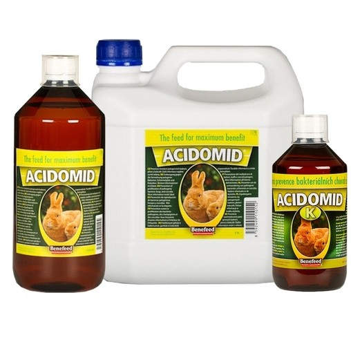 Acidomid pro králíky 3 litry