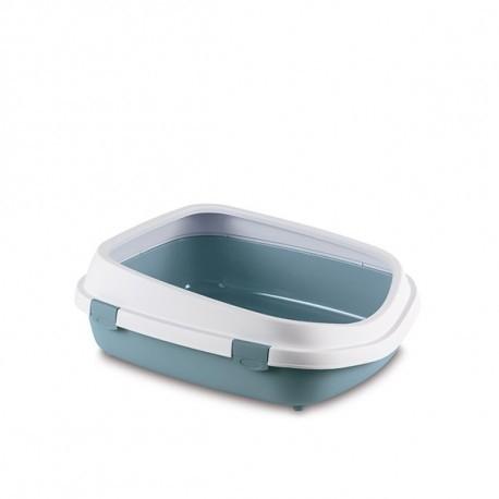 Toaleta pro kočky Queen, ocelově modrá - velké kočičí WC